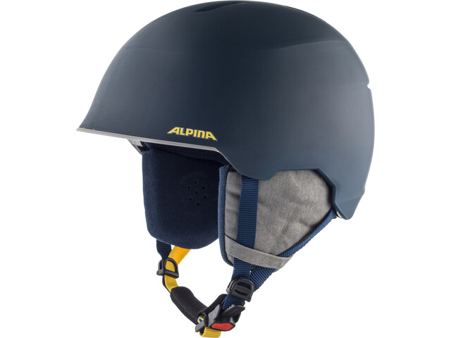Alpina Maroi Casco Niños, ink-grey matt